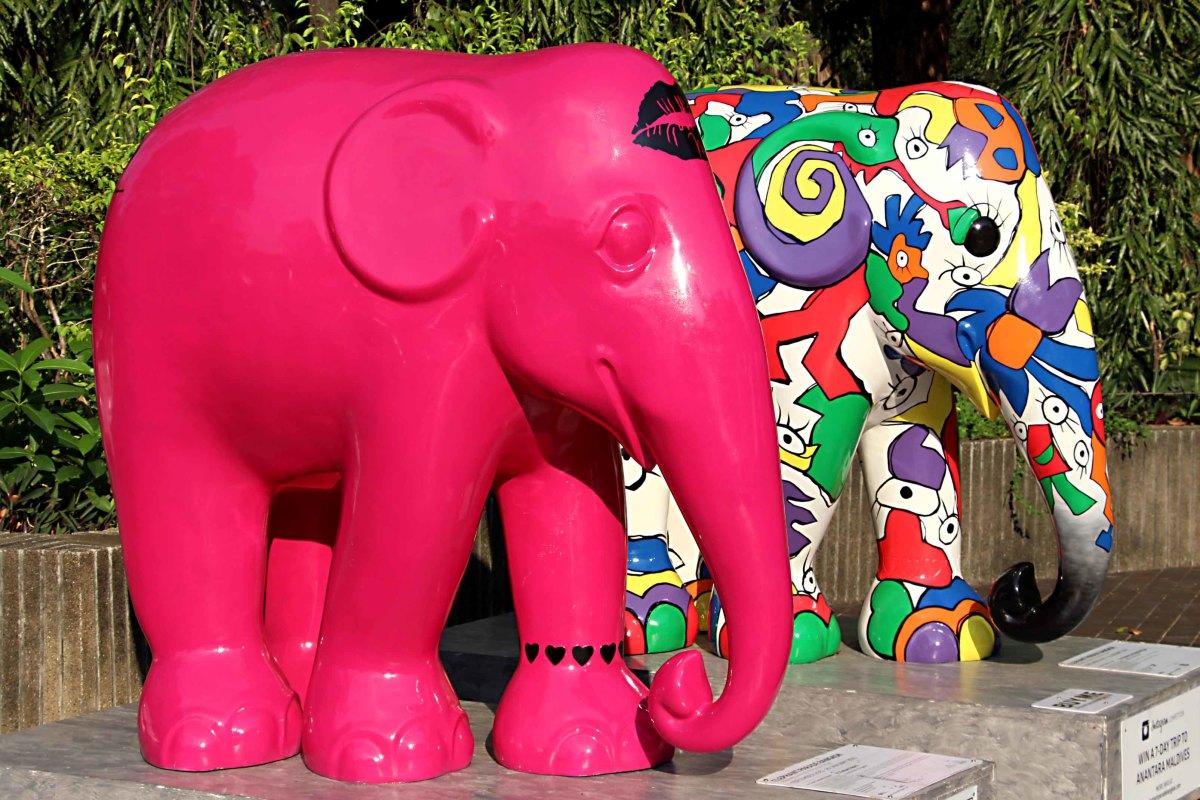Two More Elephants