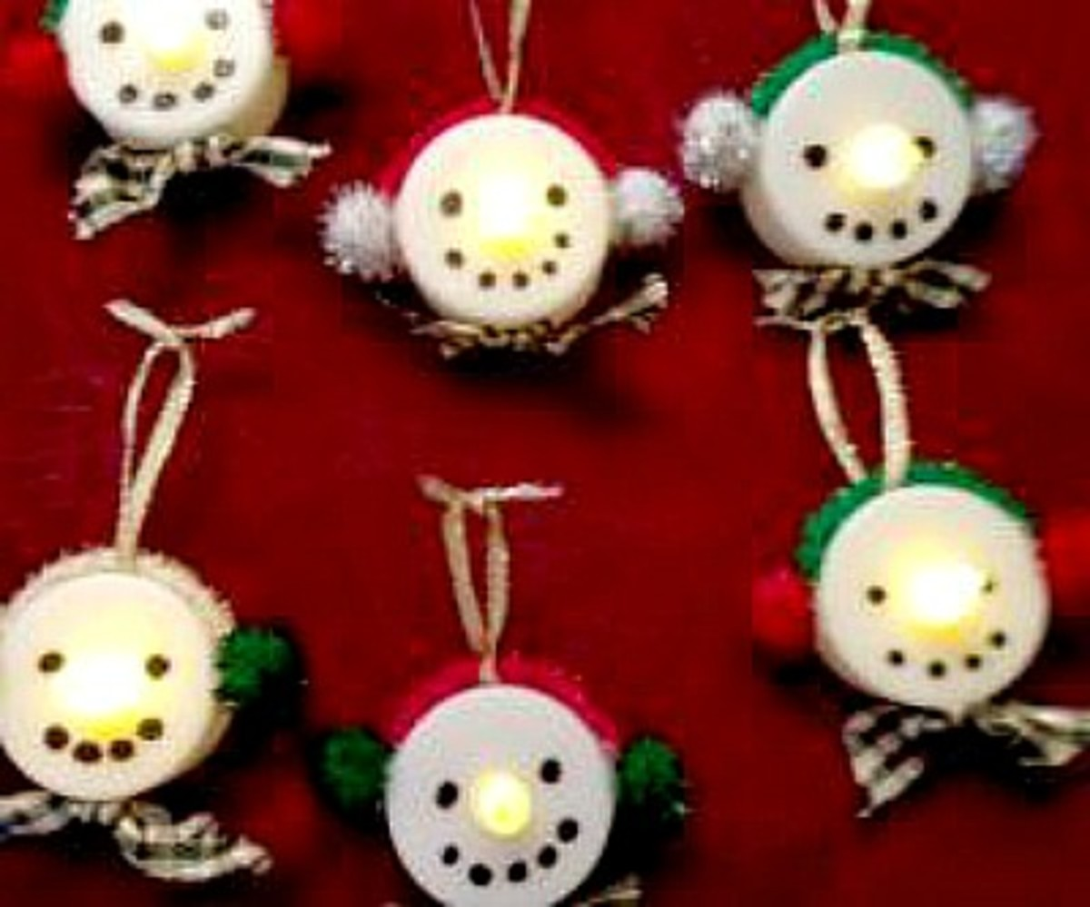 easy gingerbread man ornaments