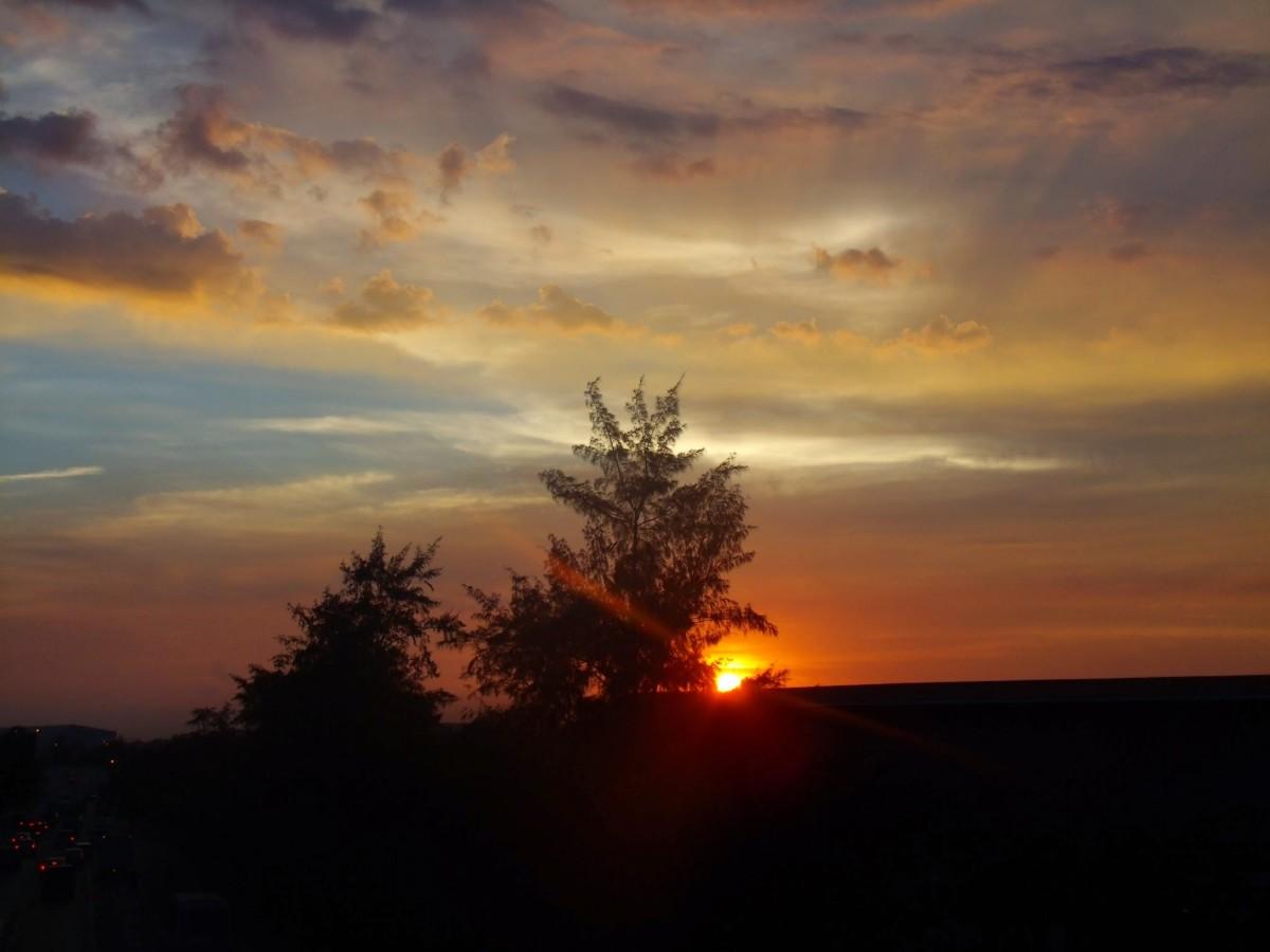 Milky Sunset.