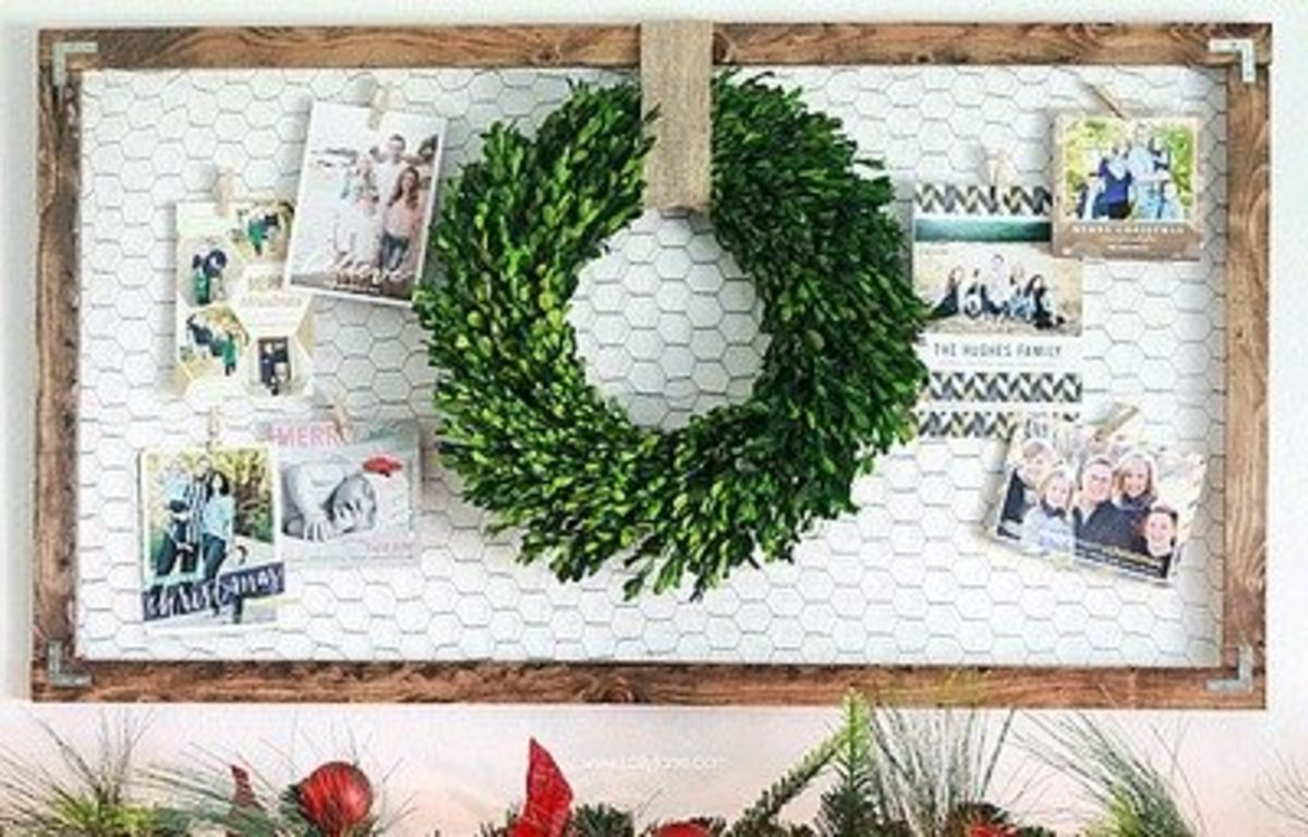 although i would never have imagined making chicken wire chargers now that ive seen them im very impressed and really like the look - Christmas Decorations With Chicken Wire