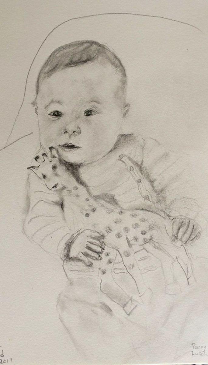 Portrait of Granddaughter Anna Lynn