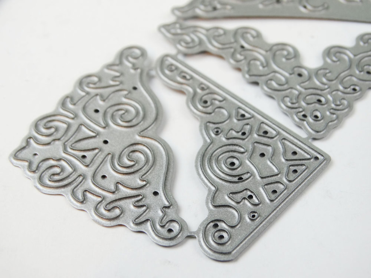 Corner dies are often intricate, beautiful additions to your paper craft projects