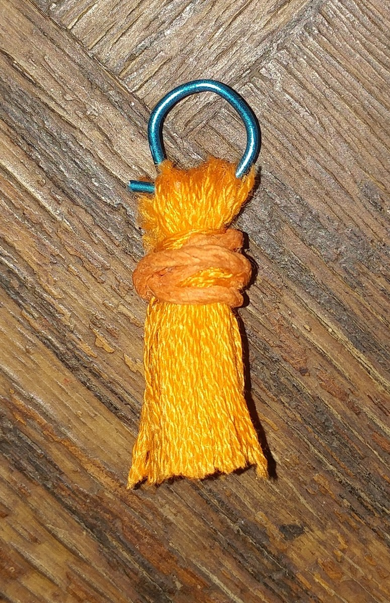This tiny tassel can be used for any craft!