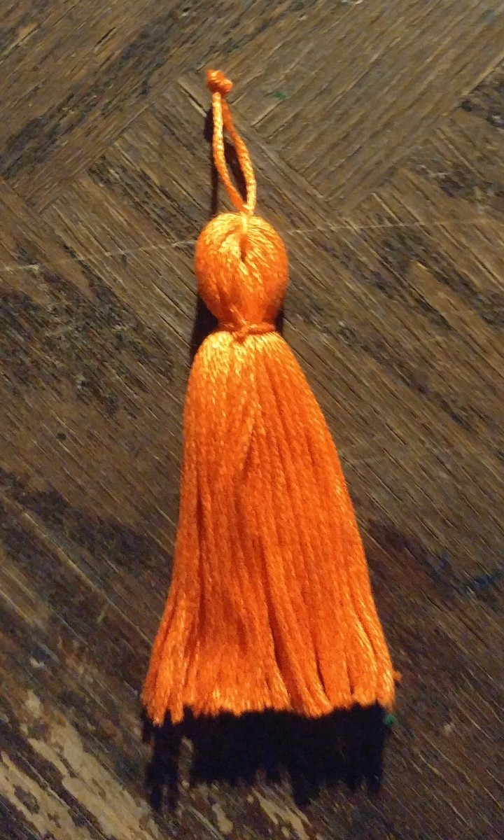 Easy thread tassel!