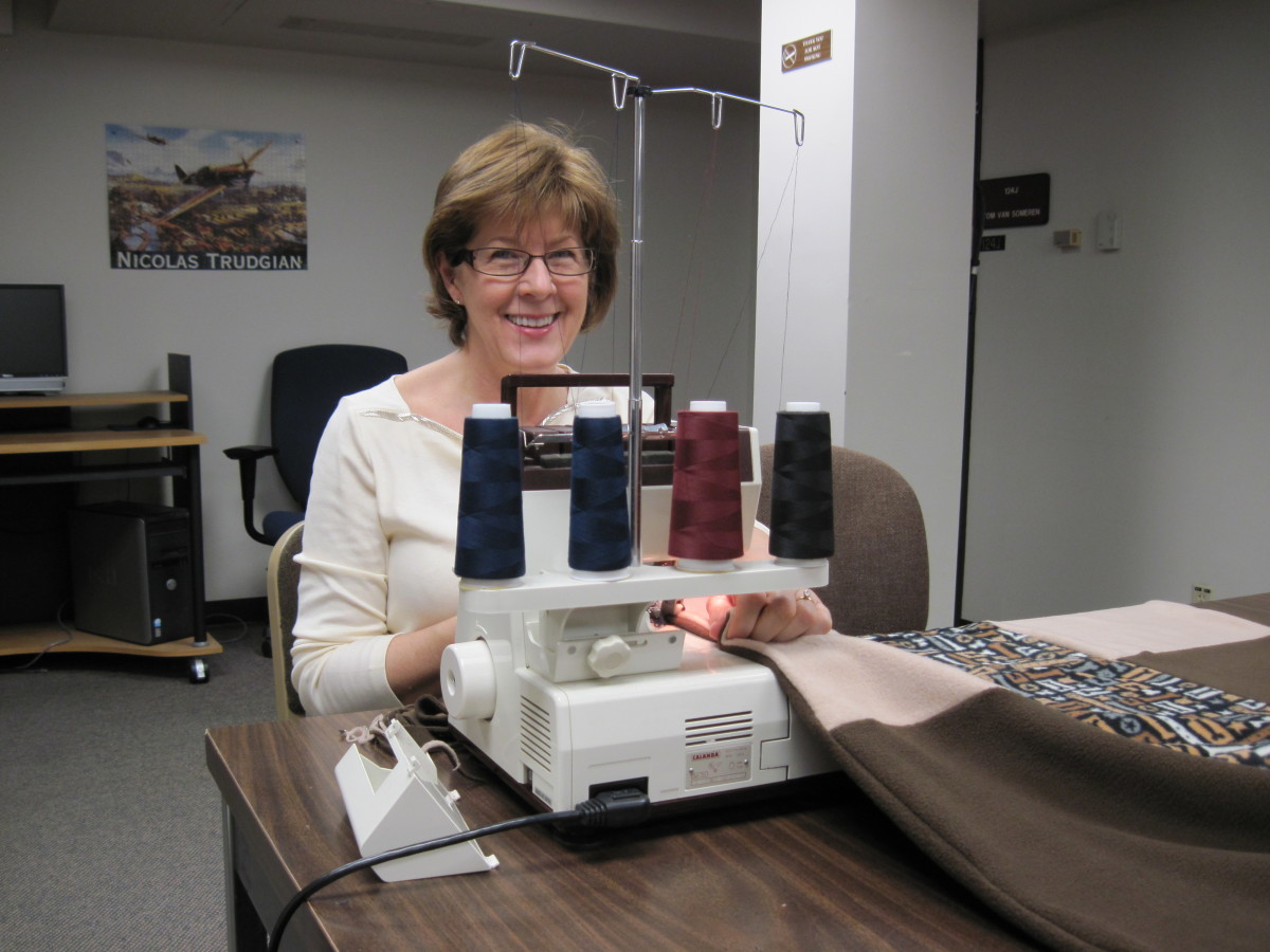 This is my serger.
