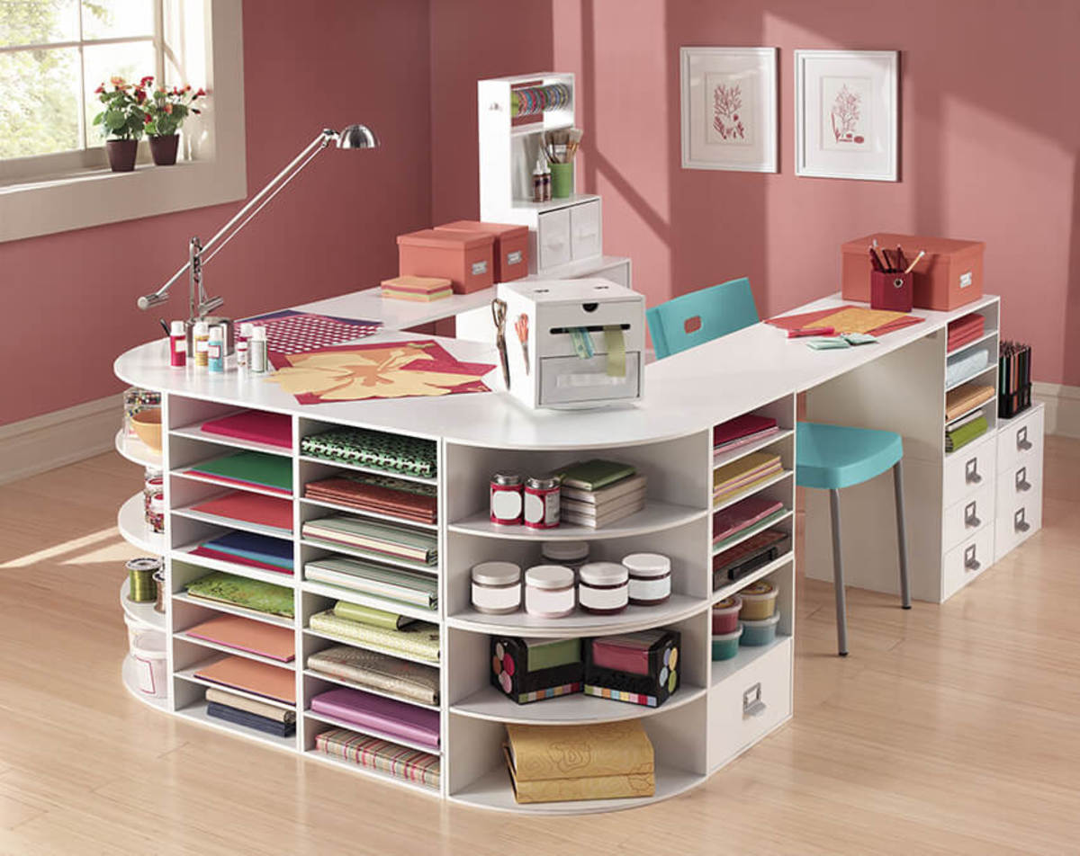 Craft rooms are generally a makeover of a current unused space