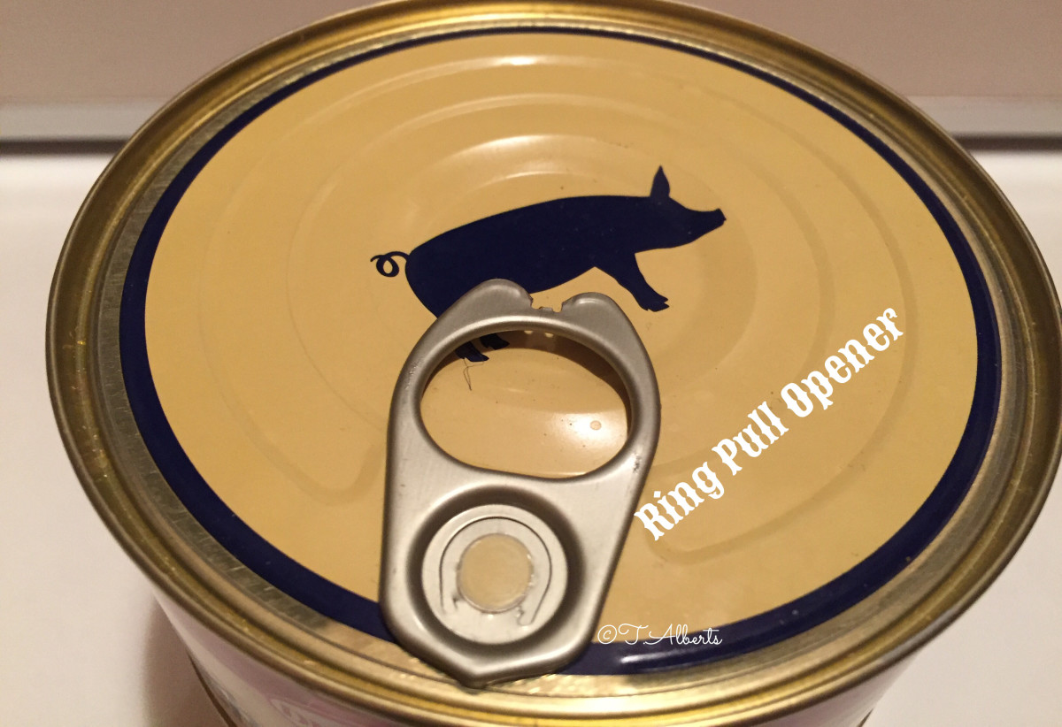This is an easy kind of can to open. That's what I prefer to use for this DIY project.