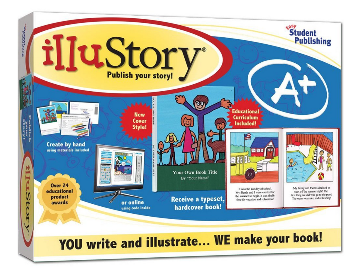 """Illustory"" book kit"