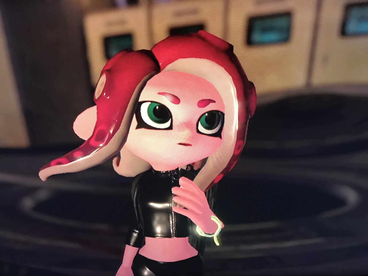 Agent 8 upon seeing the four thangs assembled. She is shook!