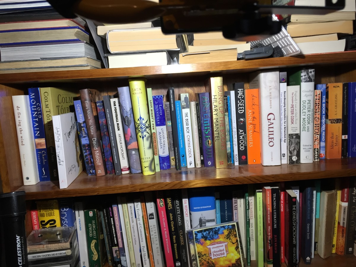 Using Search to Find Books, DVDs and CDs at Home