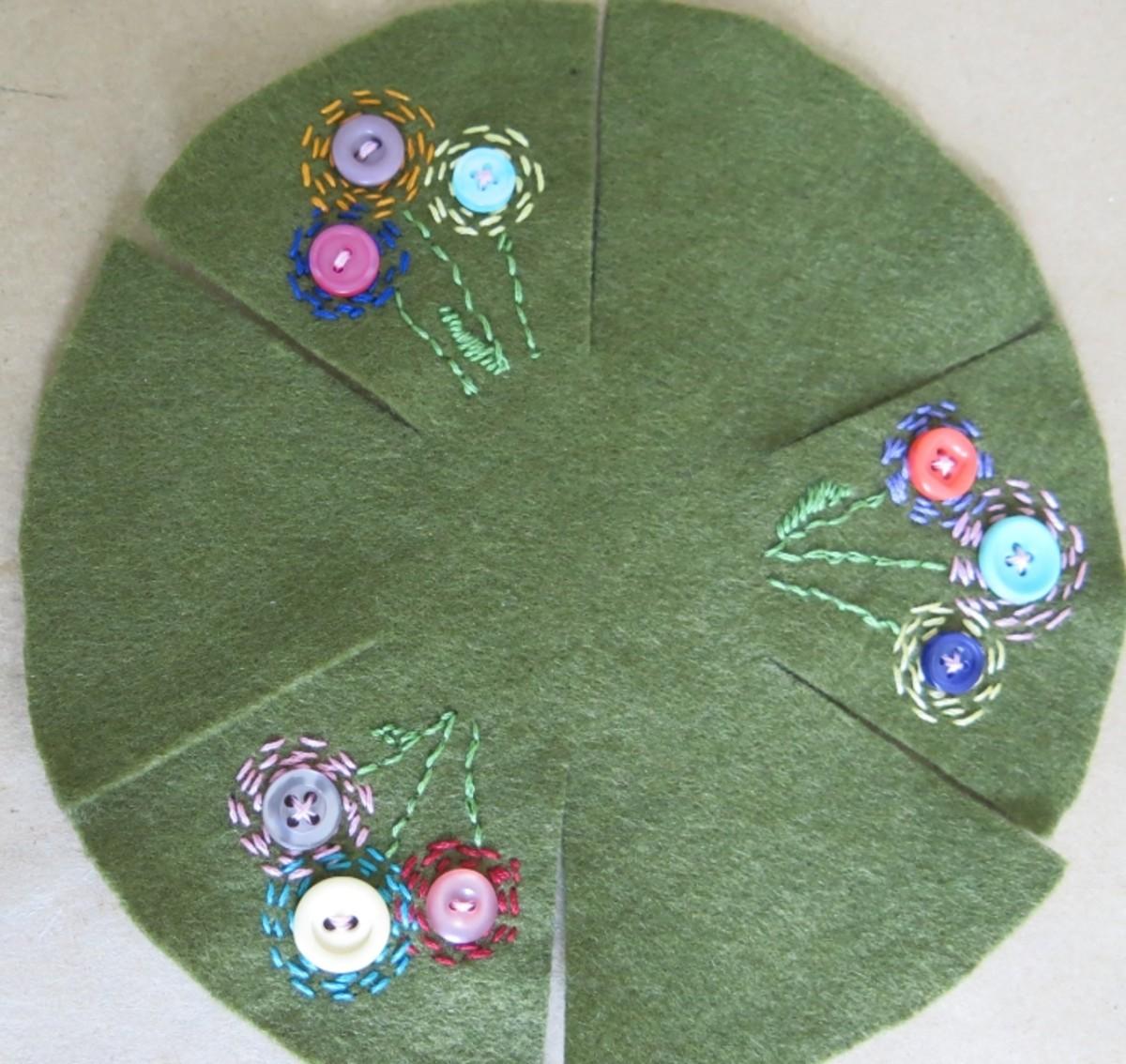 Decorating your pincushion