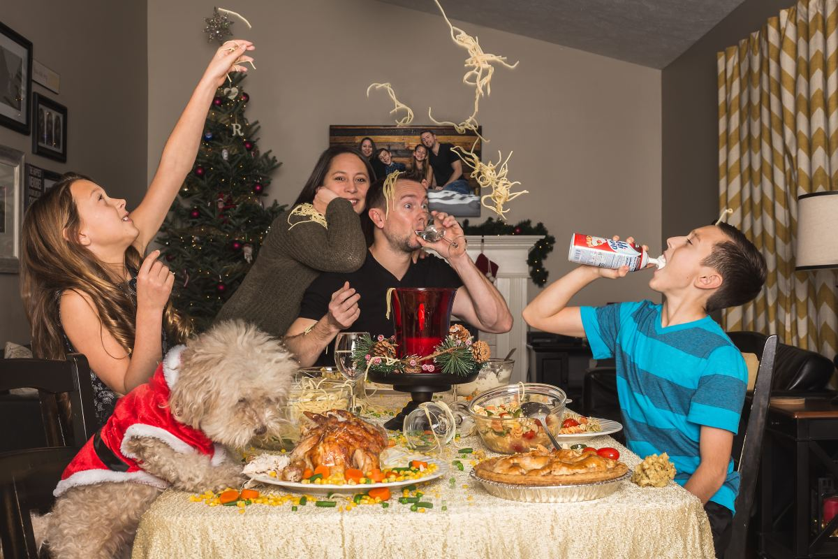 If your family tends to get a little too rambunctious around Christmas time, a lively game of charades might be the perfect outlet for all their extra holiday energy.