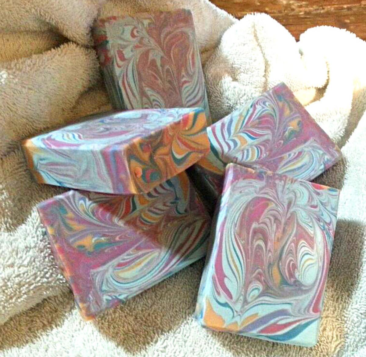 Coconut-Mango Soap