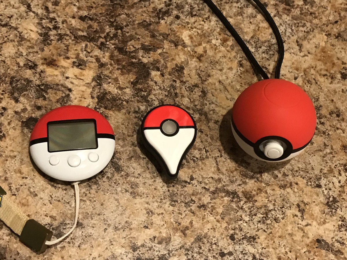 Pokewalker, Pokemon Go Plus, and Poke Ball Plus