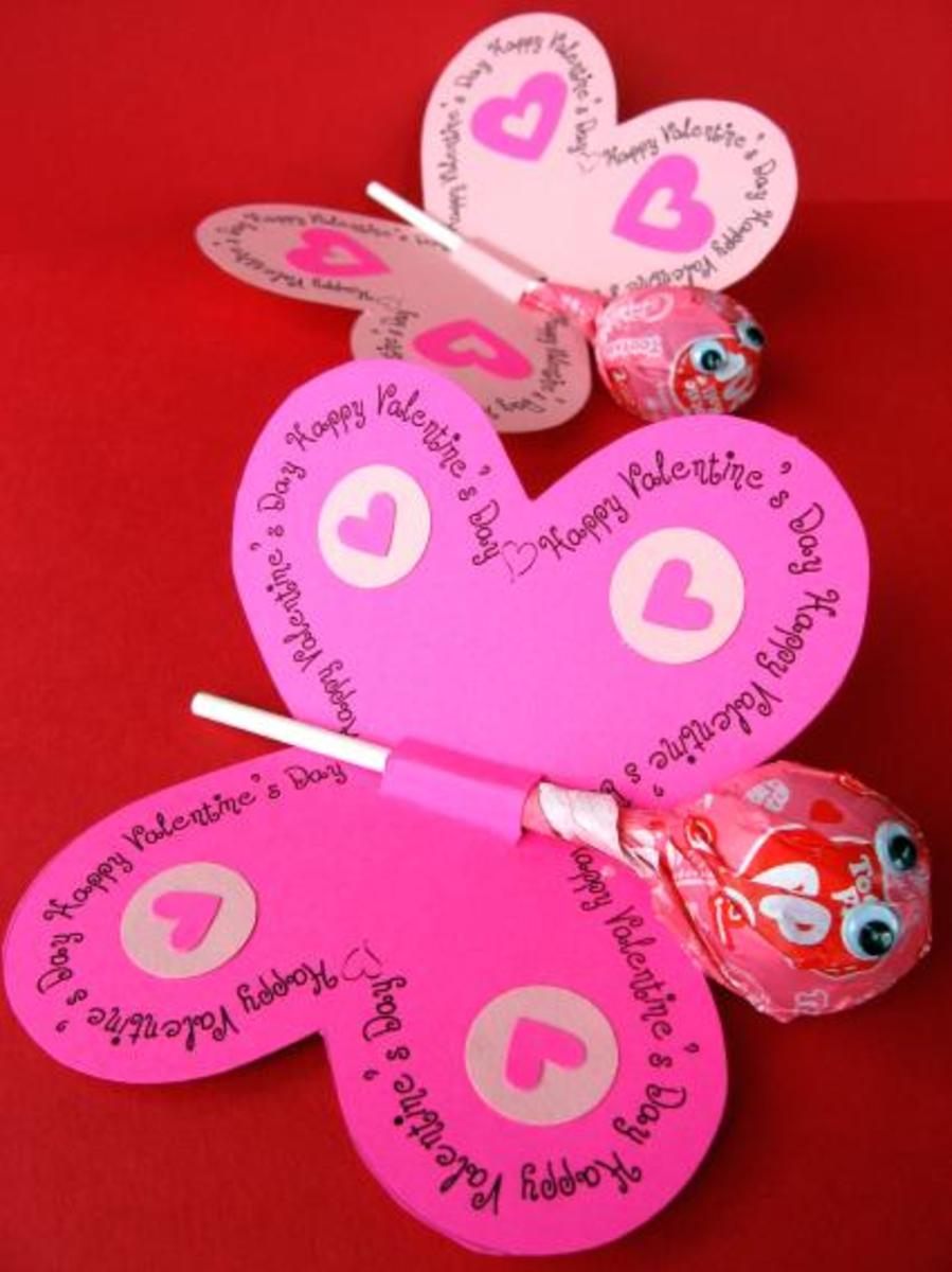 Valentines Butterfly Craft