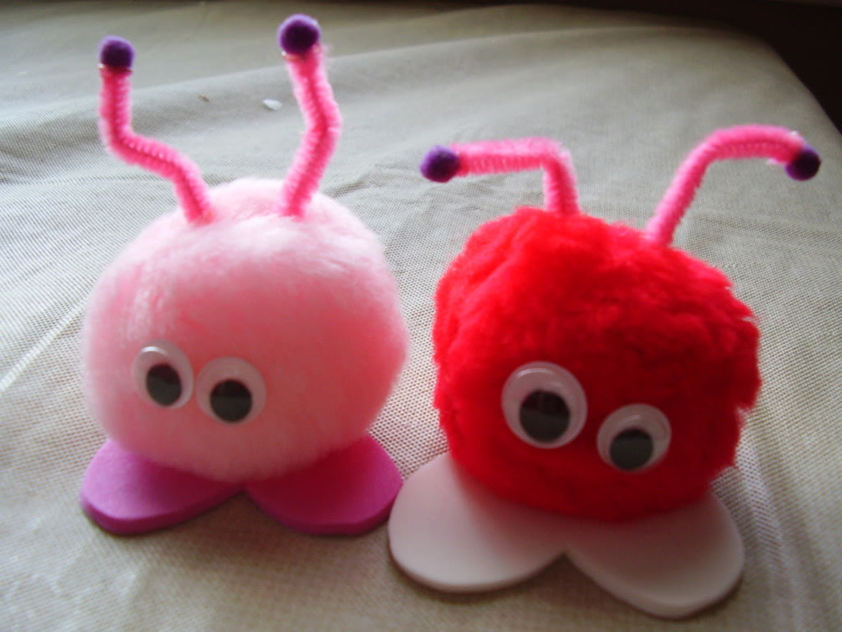 Love Bug DIY Craft for Kids