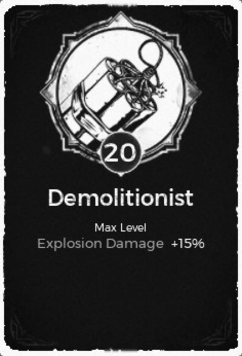 Demolitionist Trait
