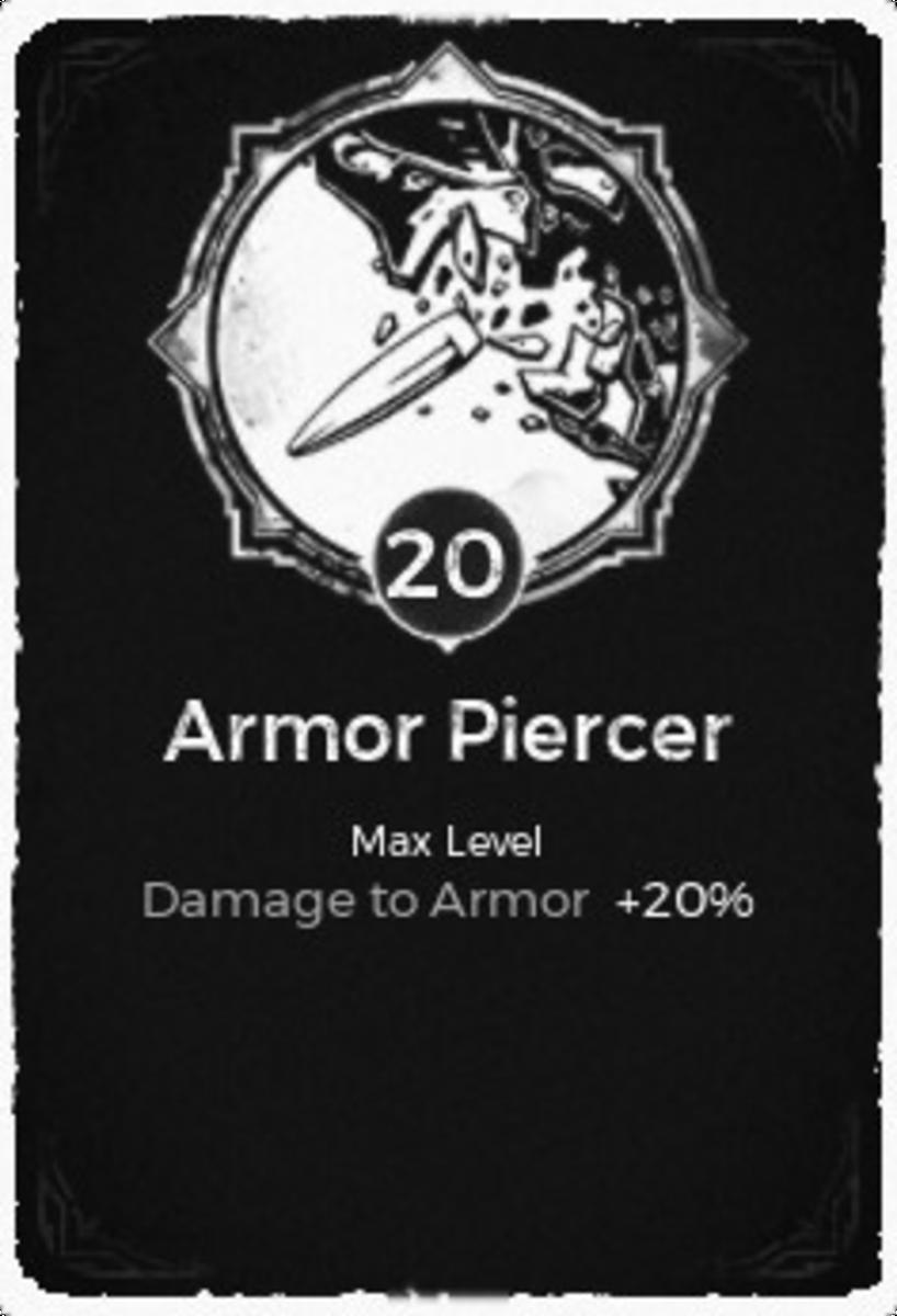 Armor Piercer Trait