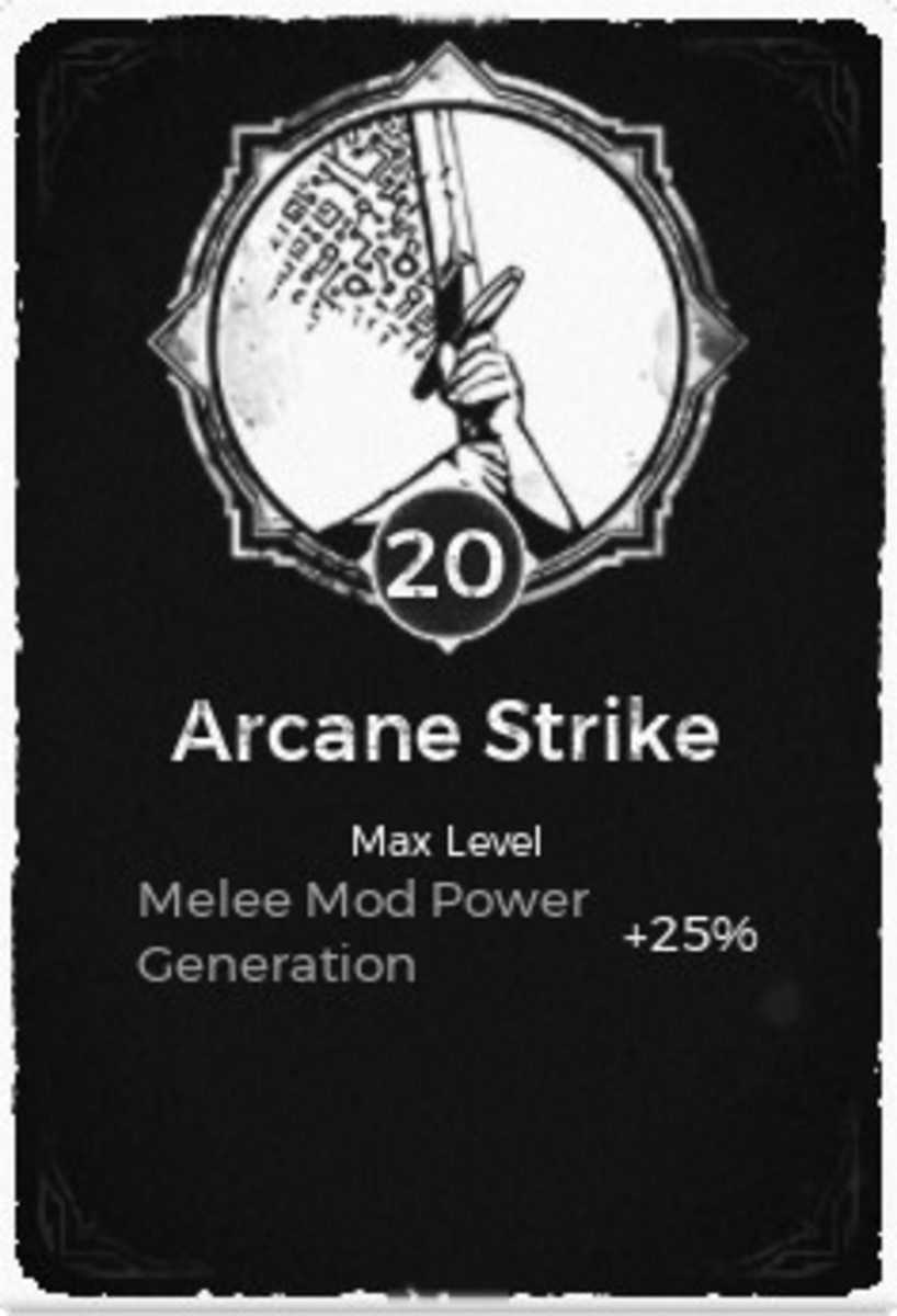 Arcane Strike Trait