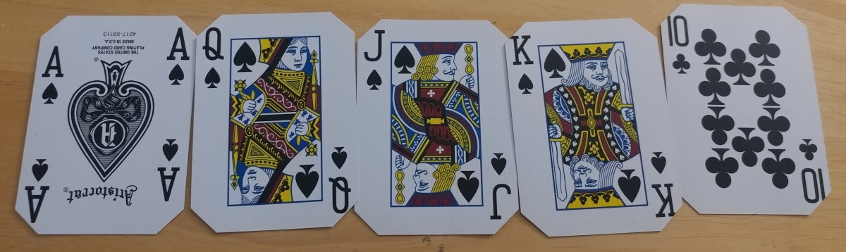 While straight flushes are rare, on boards like this, you have to be more open to the possibly somebody has one.
