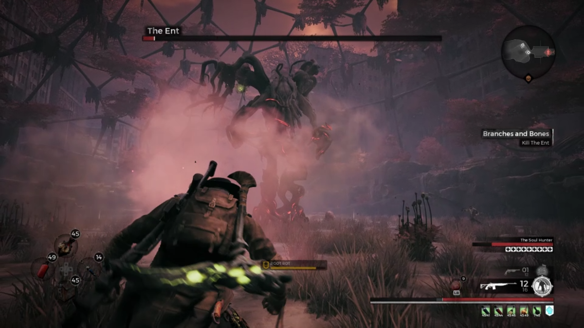 Getting infected during a boss fight is a major pain.