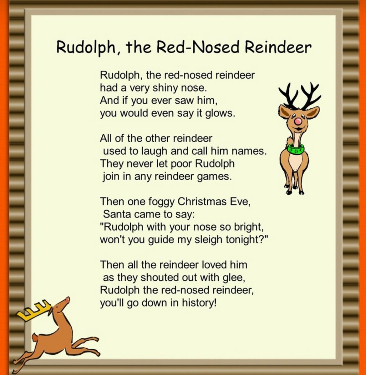 Rudolph the red nosed reindeer song search results calendar 2015