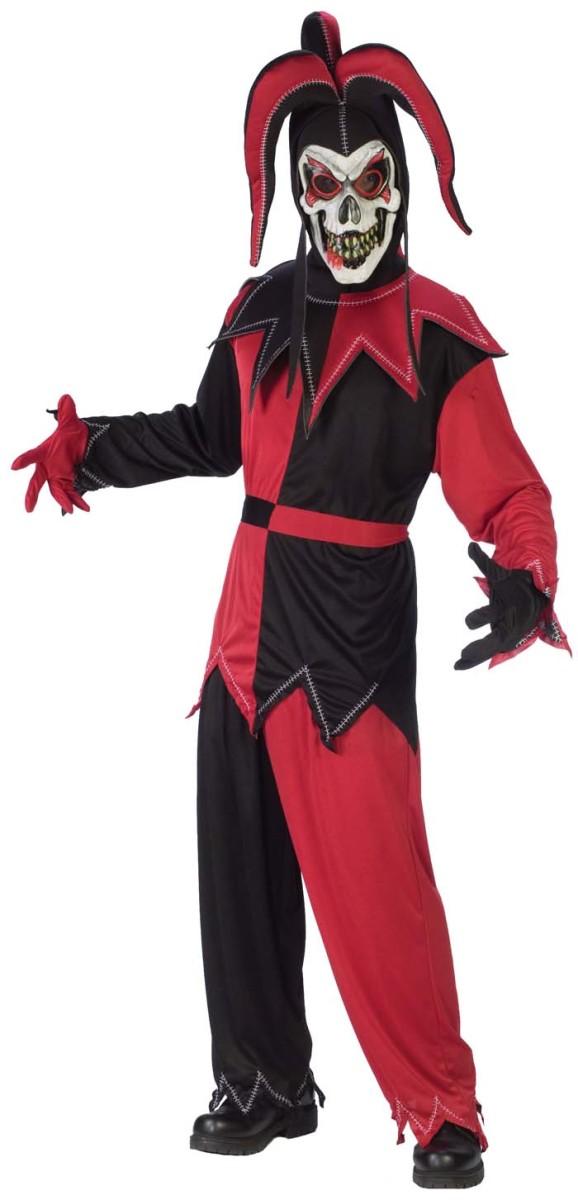 Spooky court jester