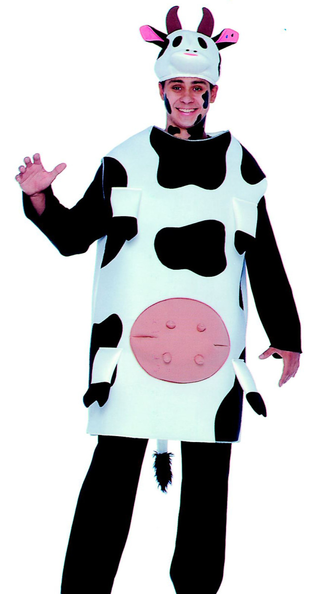 One man cow costume