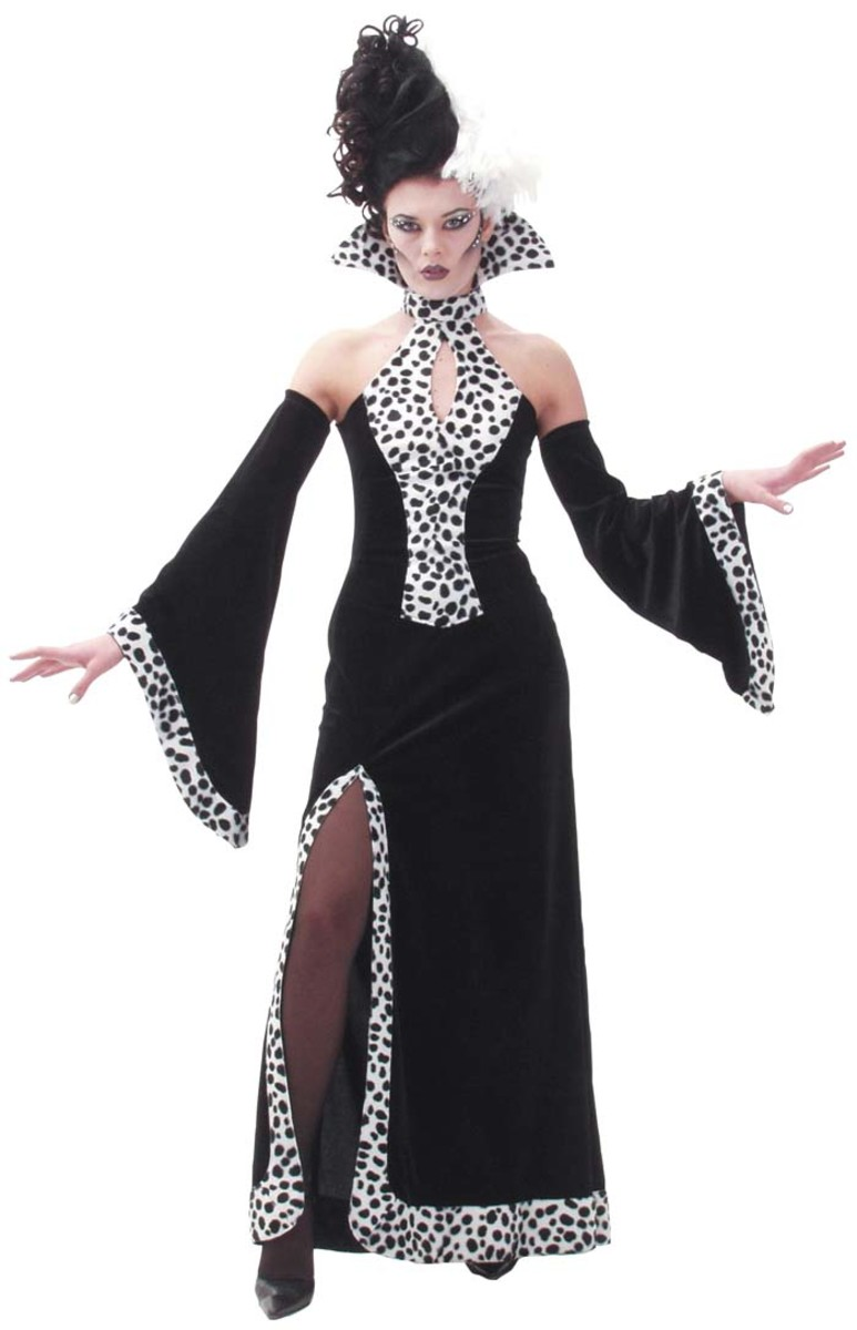 Cruella Costume  sc 1 st  Holidappy & Costume Ideas Starting With the Letter