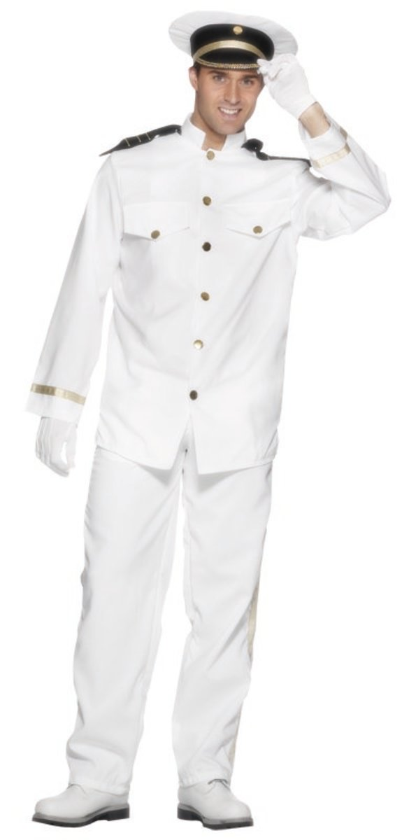 Ship captain costume