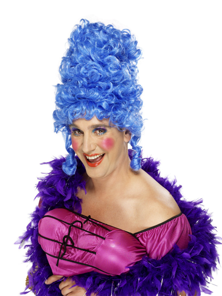Classic panto dame look