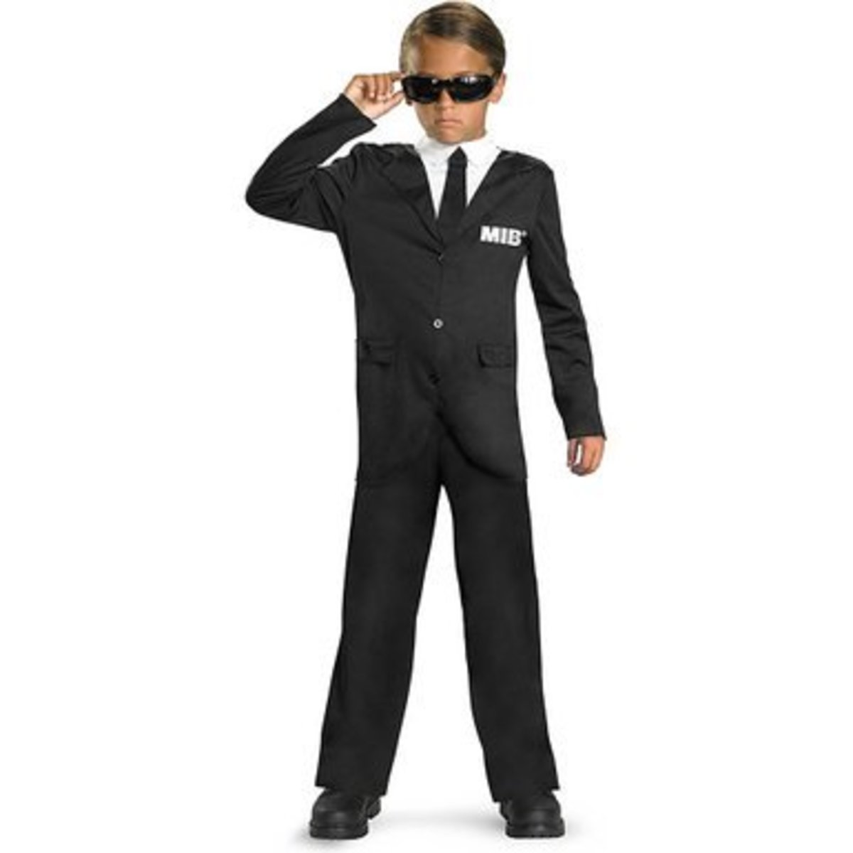 Men in Black costume