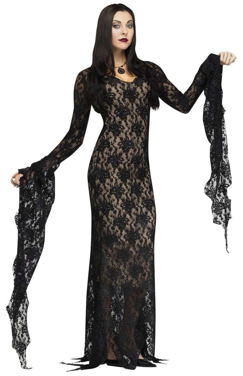 Morticia Addams Halloween costume
