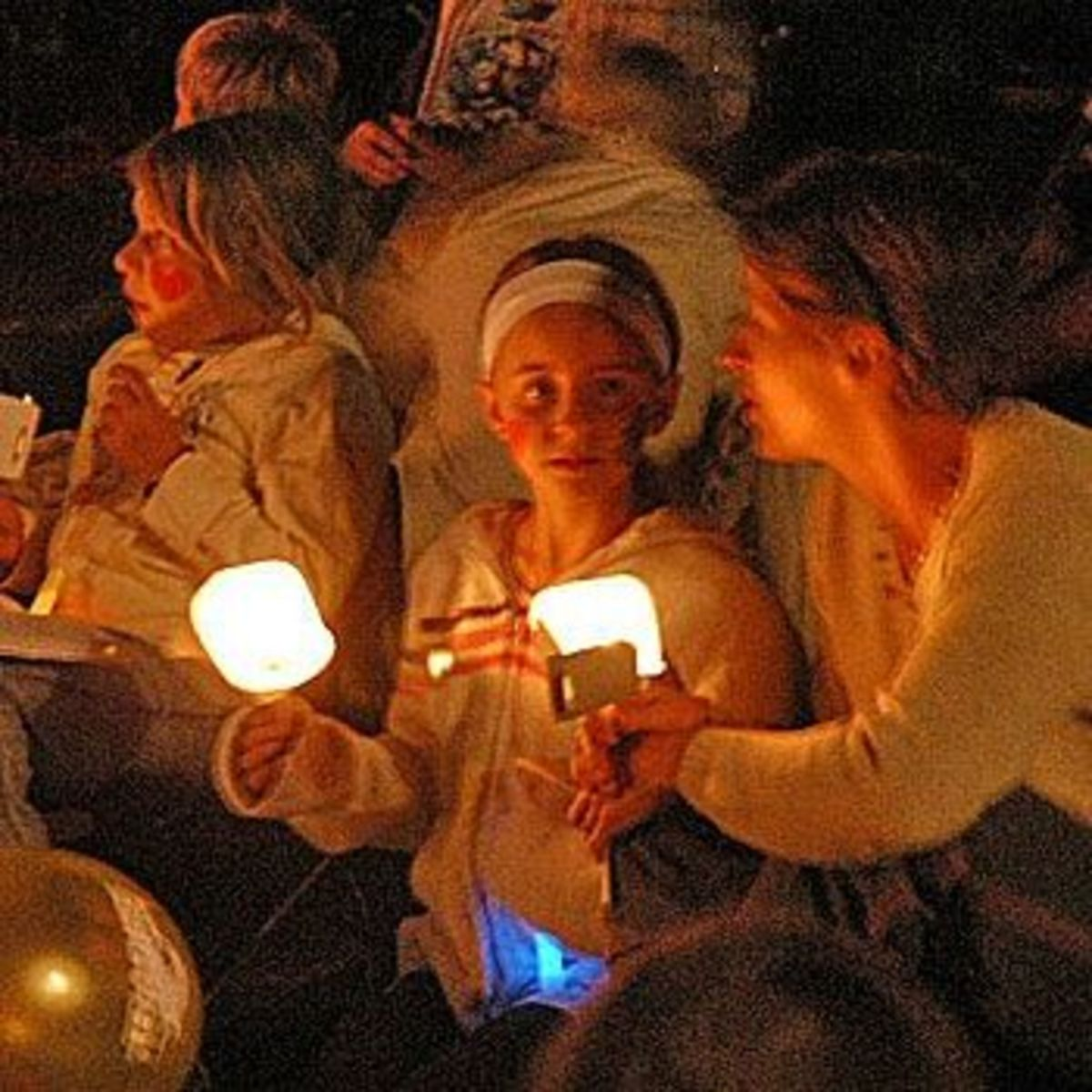 Family Night at Carols by Candlelight