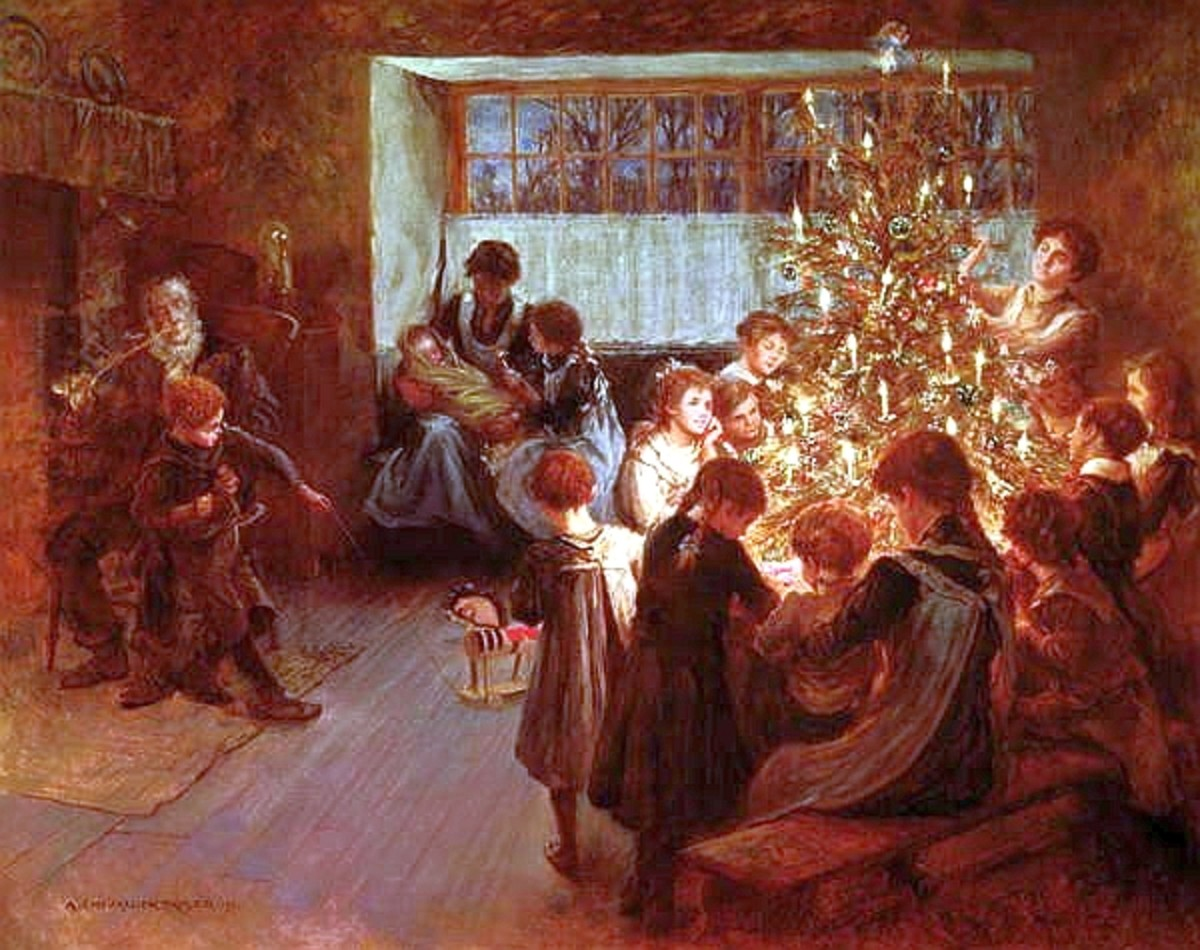 Some Old Fashioned Christmas Paintings And Christmas Pictures For Art Lovers This Holiday Holidappy Celebrations