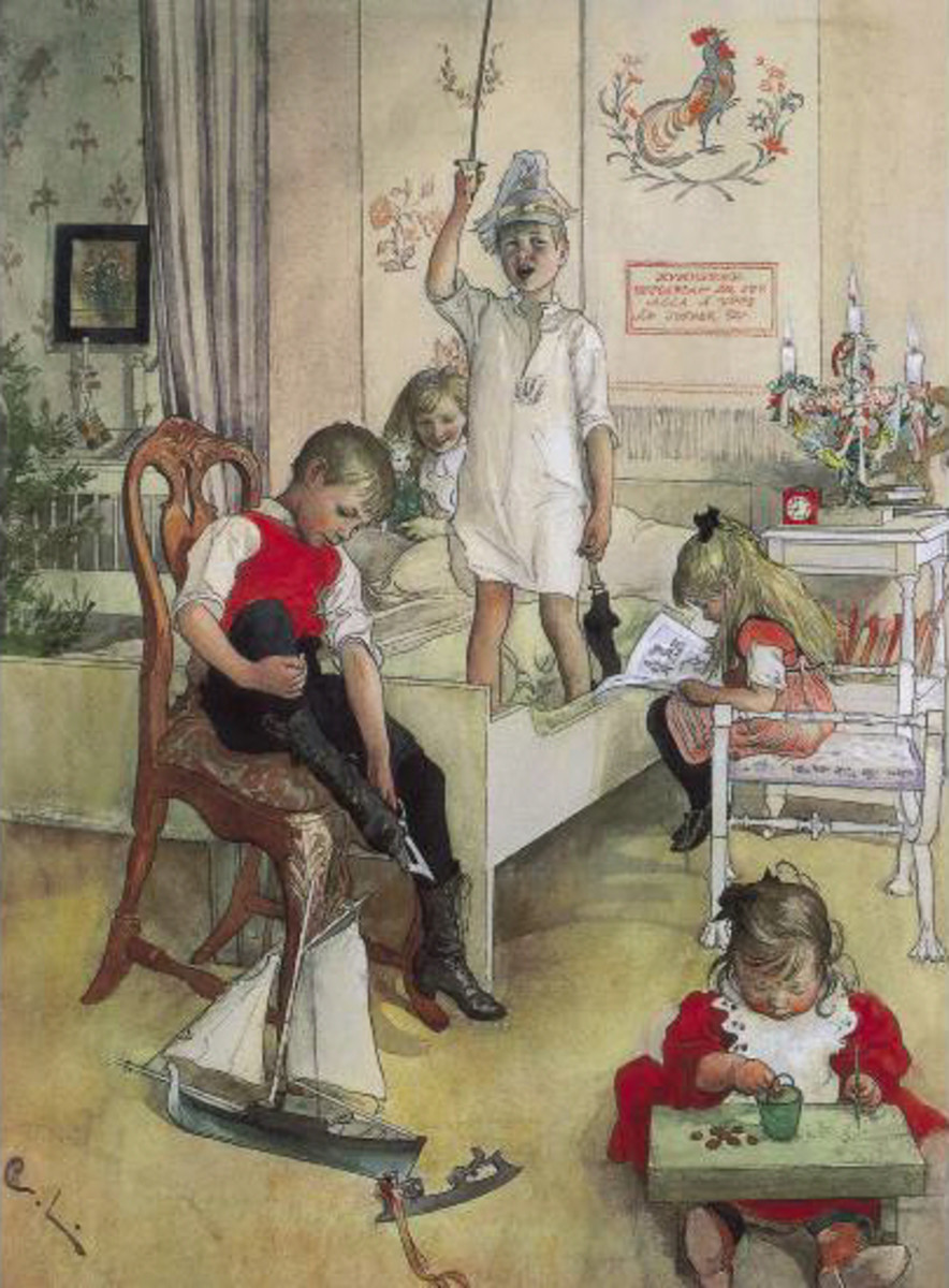 Some Old-Fashioned Christmas Paintings and Christmas Pictures for ...