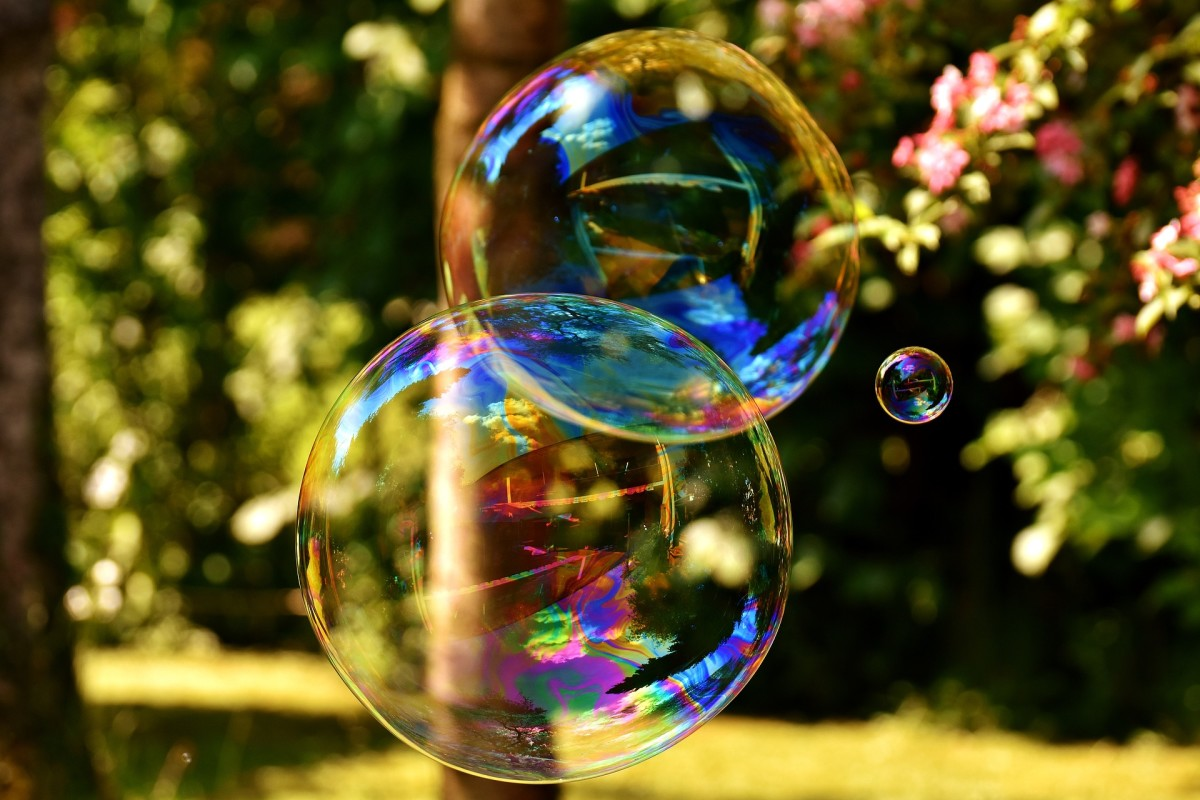 Homemade soap bubbles are easy and inexpensive to make, and a fun non-competitive free-form activity for littles. Play some upbeat children's music and young toddlers can run around popping bubbles.