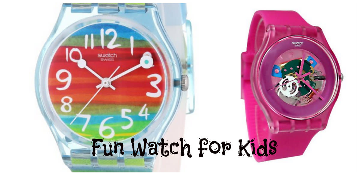 Swatch Watch for Girls.
