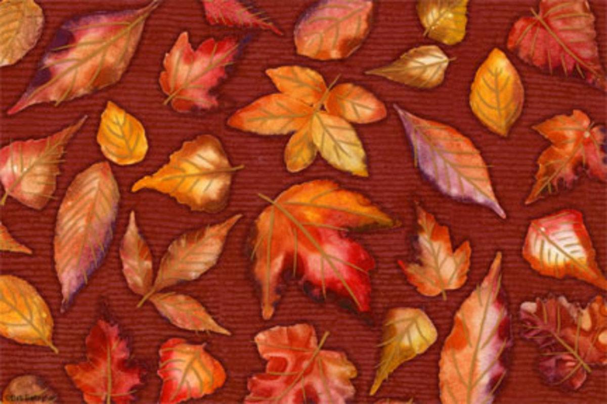 Leaf Thank-You Card
