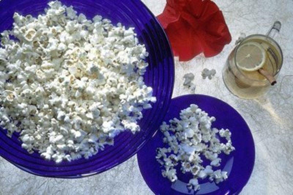 Popcorn Thanksgiving Art for Kids