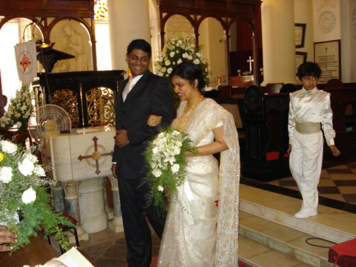 Christian Bridal Gowns For Rent In Chennai : Christian weddings of south india holidappy
