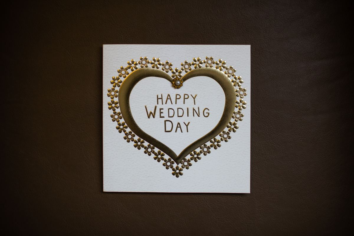 Newlyweds receive plenty of cards and well-wishes. Make yours personal, thoughtful, and sincere.