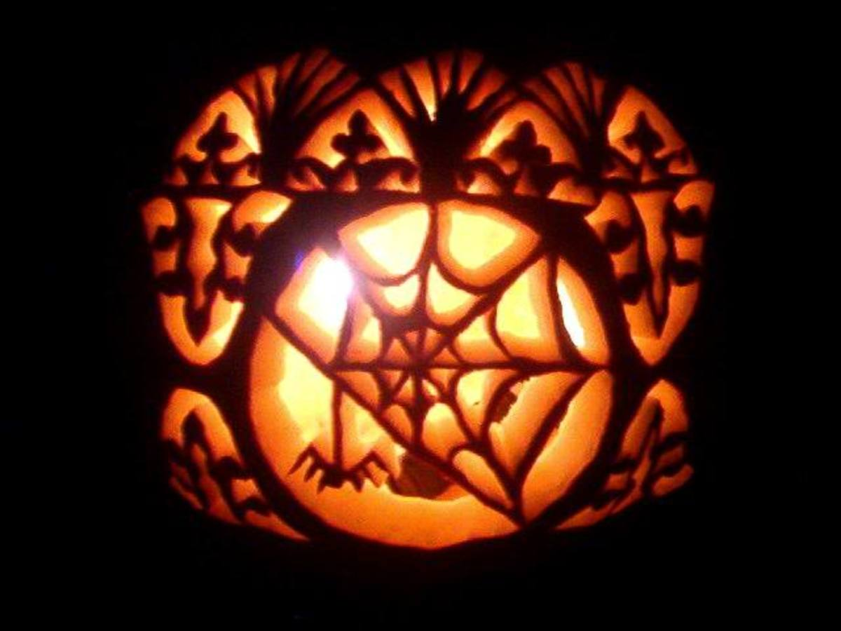 Creative spooky pumpkin carving ideas