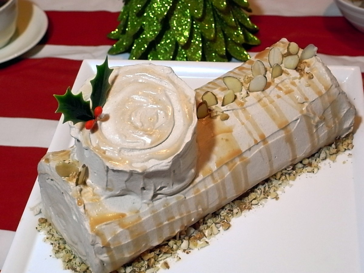 The yule log cake is a deeply rooted (pun intended) tradition in France.