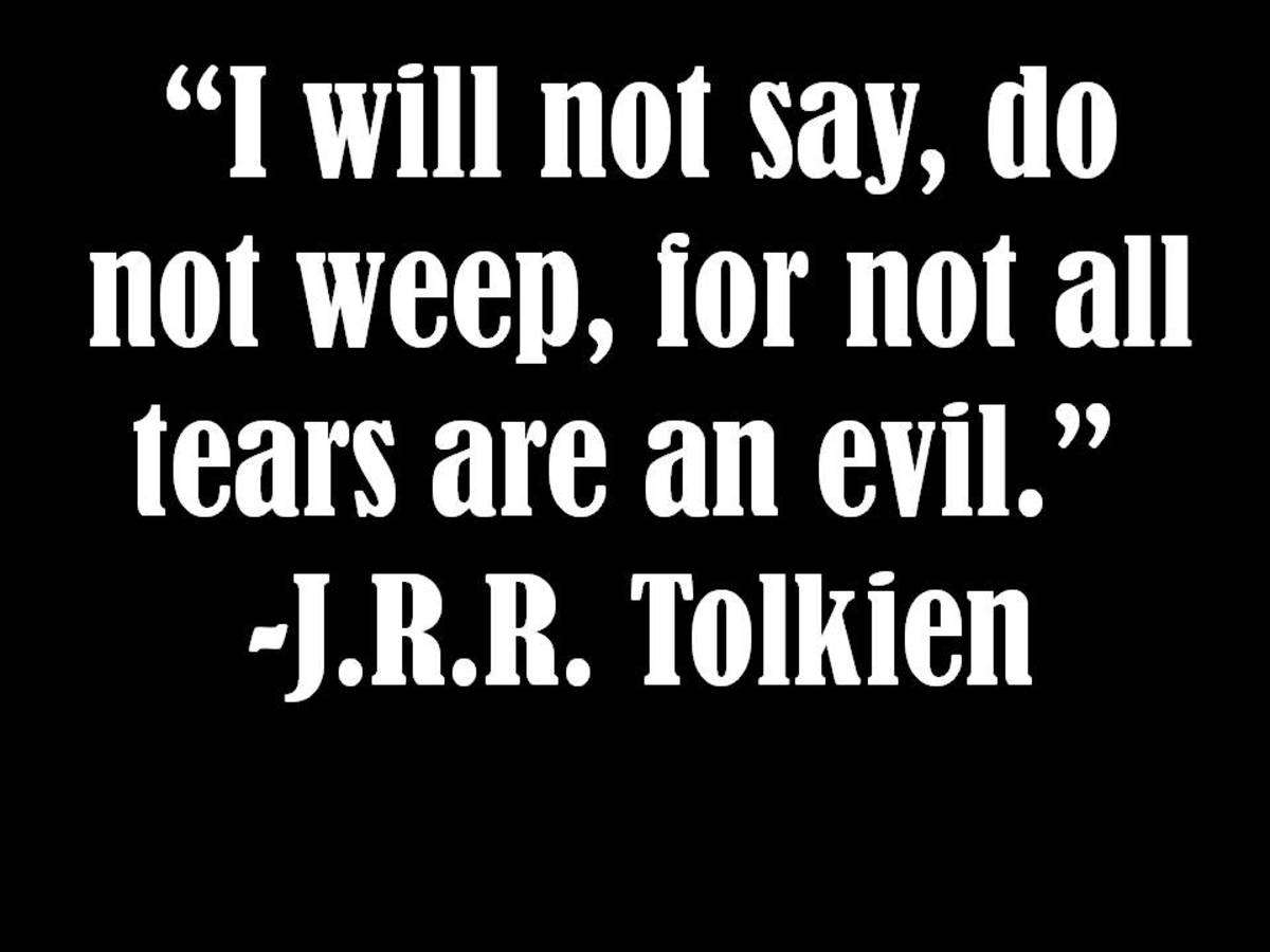 Lovely J.R.R. Tolkien Quote