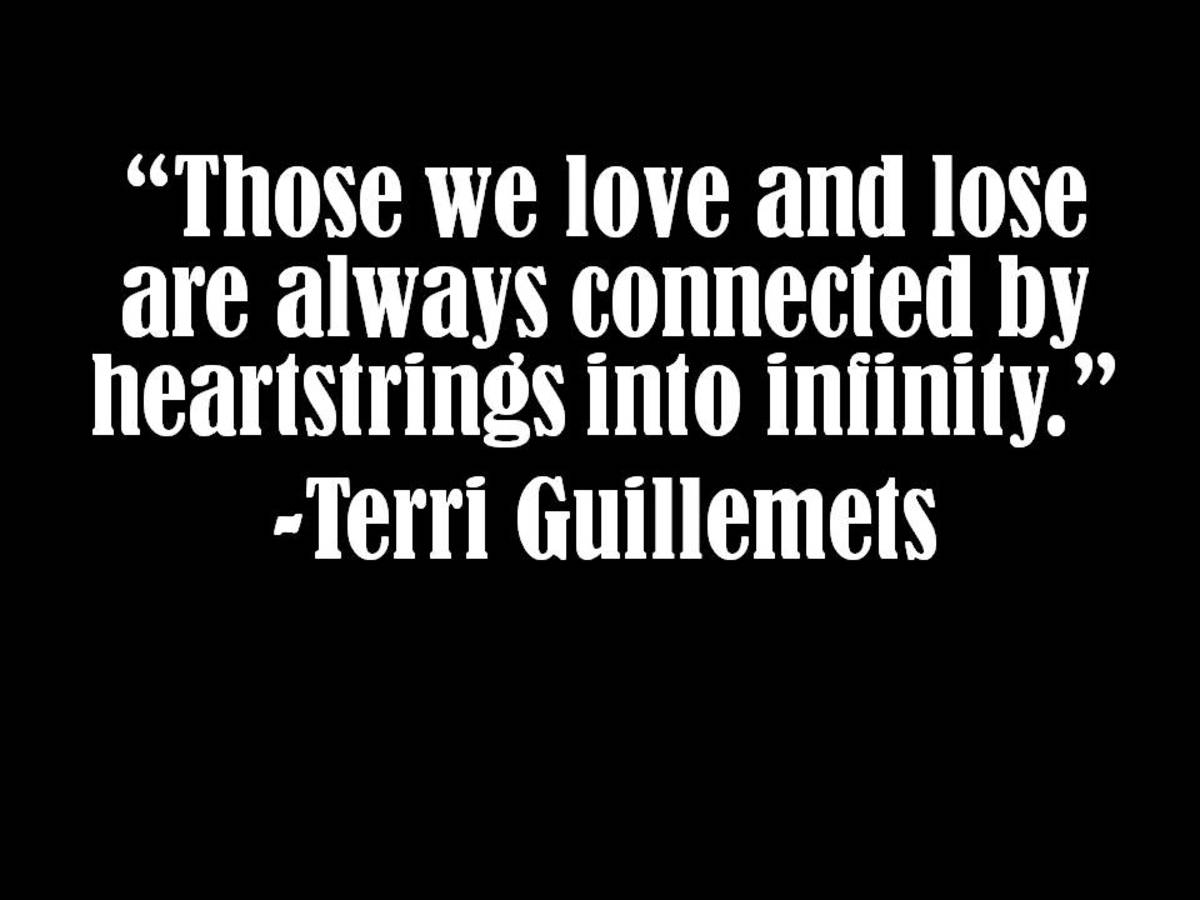 Terri Guillemets Quote