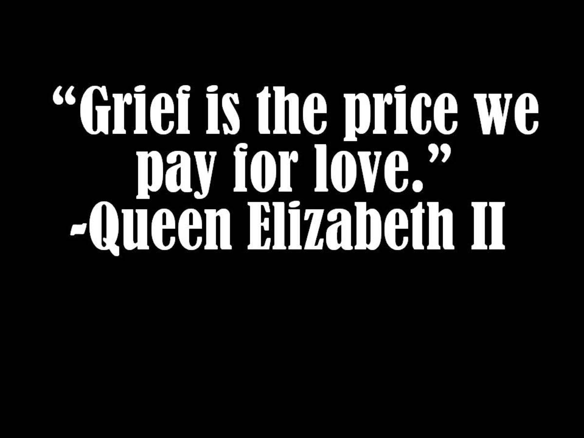 Grief and love quote