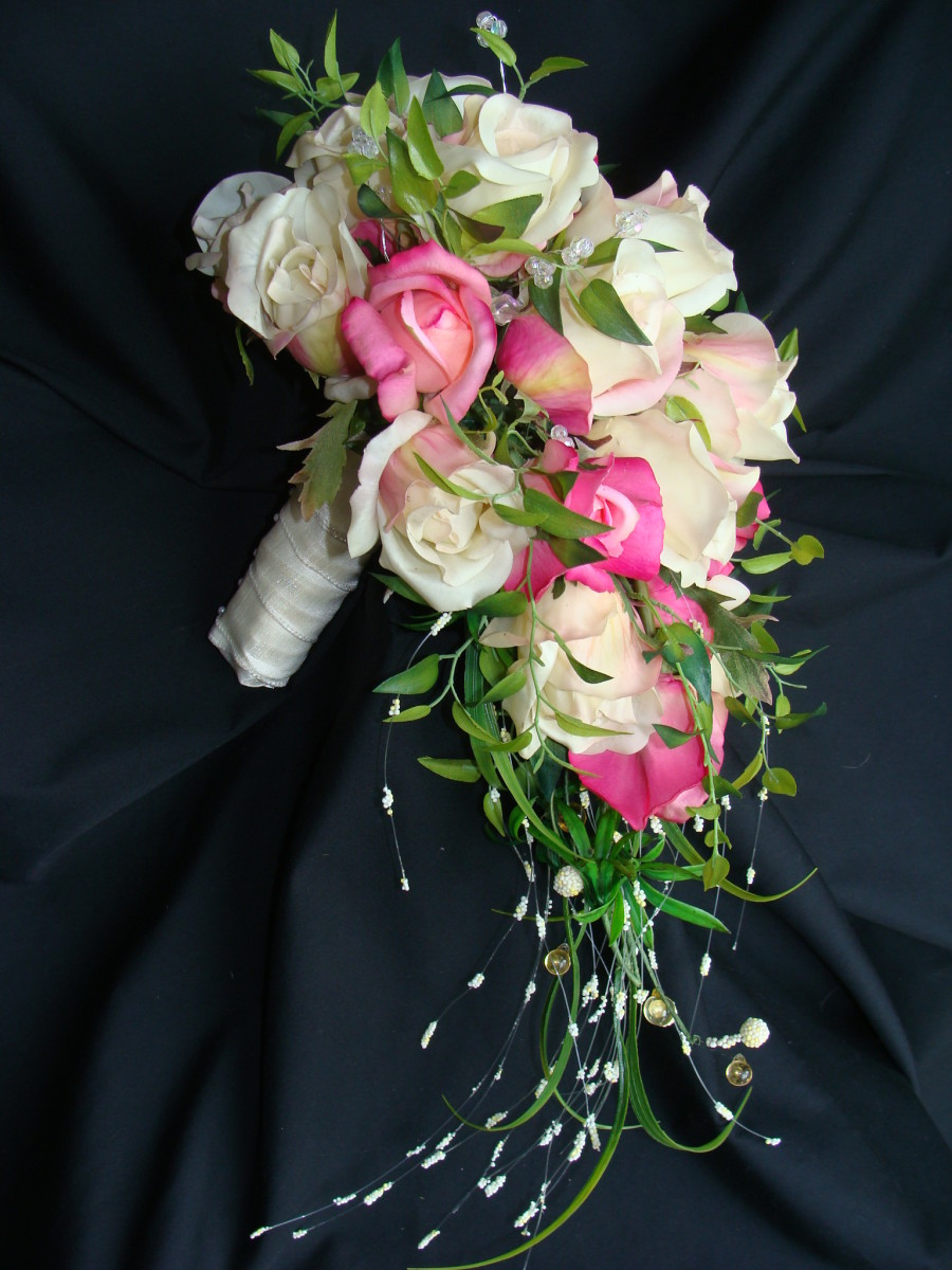 Bride's Bouquet Side View