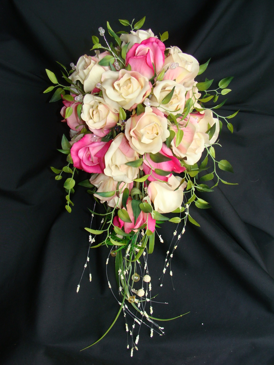 Make your own bridal wedding bouquets flowers save money for Make your own flower arrangement