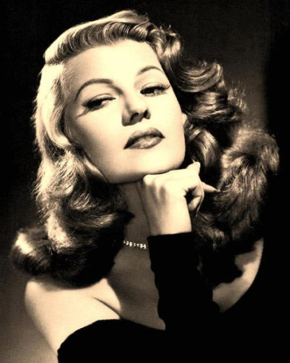 Femme Fatale, Rita Hayworth looks like a girl who would wear Channel No 5